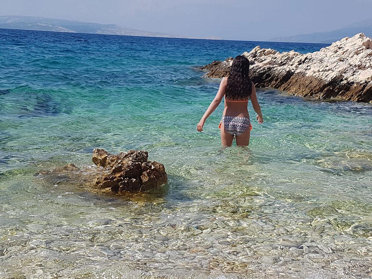 Nackt Insel
